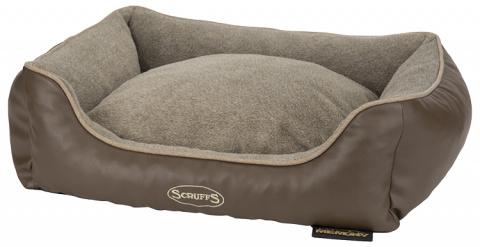 Pelíšek Scruffs Chateau Memory Foam Orthopaedic Box Bed M 60cm laté