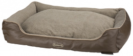 Pelíšek Scruffs Chateau Memory Foam Orthopaedic Box Bed XL 90cm laté