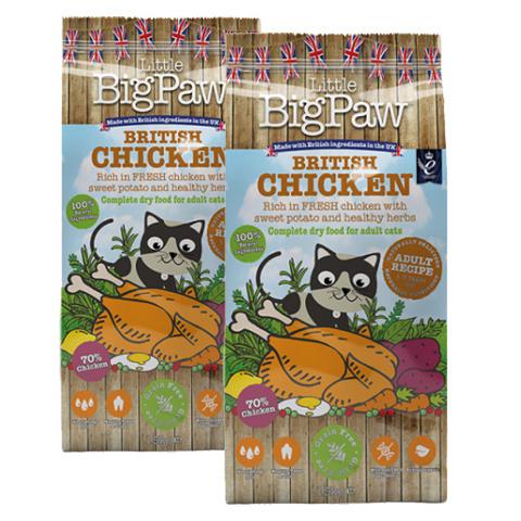 Krmivo Little Big Paw Adult kuře 1,5kg 1+1 zdarma