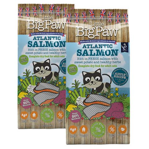 Krmivo Little Big Paw Adult losos 1,5kg 1+1 zdarma