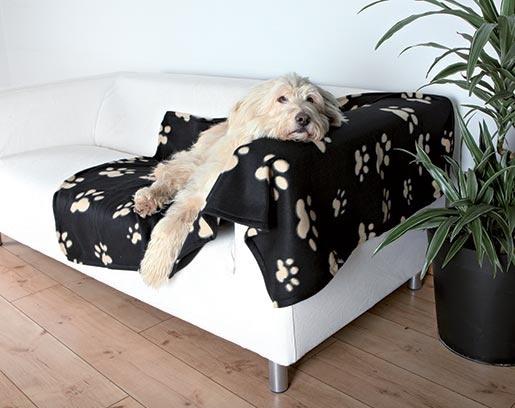 Deka pro psy Trixie Barney 150cm černo-béžová