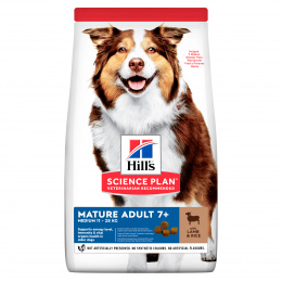 Hill´s Science Plan Canine Mature Adult 7+ Medium Lamb & Rice 14kg