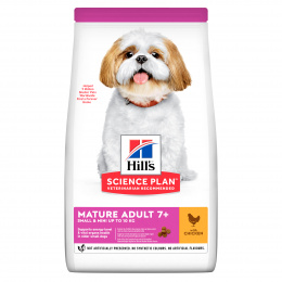 Hill´s Science Plan Canine Mature Adult 7+  Small & Mini Chicken 6kg