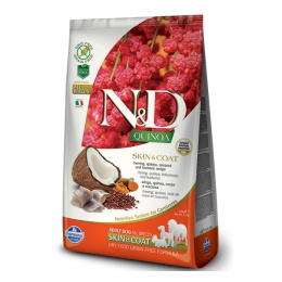 N&D Quinoa Dog Skin & Coat Herring & Coconut 2,5kg