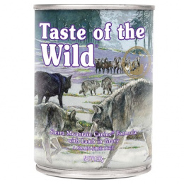 Konzerva Taste of the Wild Sierra Mountain Canine 390g