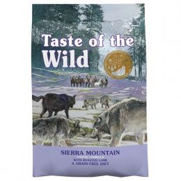 Taste of the Wild Sierra Mountain Canine 12,2kg + konzerva zdarma