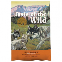 Taste of the Wild High Prairie Puppy 5,6kg + konzerva zdarma