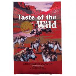 Taste of the Wild Southwest Canyon Canine 5,6kg + konzerva zdarma