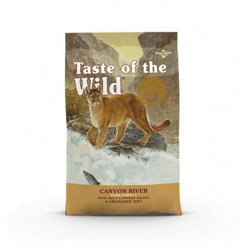 Taste of the Wild Canyon River Feline 6,6kg + konzerva zdarma title=