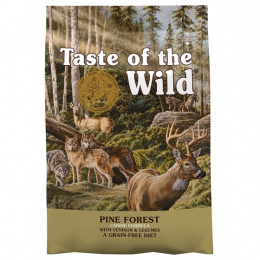 Taste of the Wild Pine Forest Canine 5,6kg + konzerva zdarma