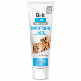 Pasta Brit Care Cat Paste Cheese Creme enriched with Prebiotics 100g