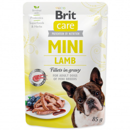 Kapsička Brit Care Mini Lamb fillets in gravy 85g