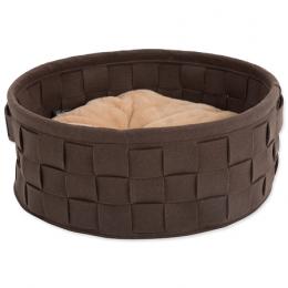 Pelíšek Scruffs Habitat Felt Bed 45cm čokoládový