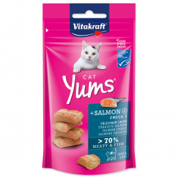Pochoutka Vitakraft Cat Yums s lososem 40g