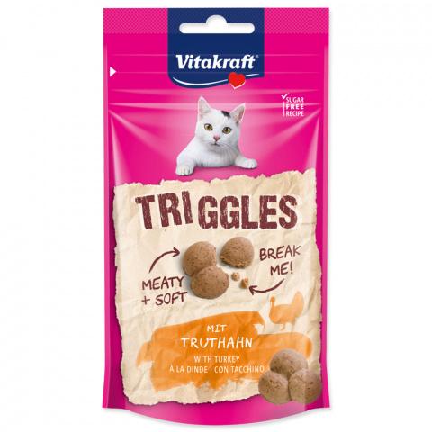 Pochoutka Vitakraft Triggles s krůtím 40g