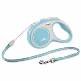 Voditko Flexi New Comfort lanko S 5m světle modré