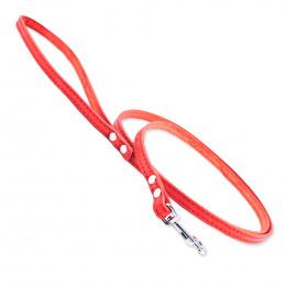 Kožené vodítko Tamer 1cm/175cm červené