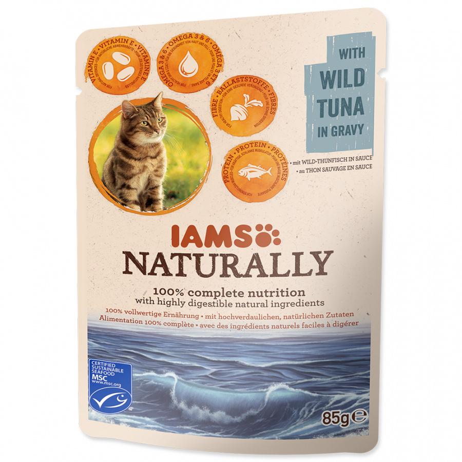 Kapsička IAMS Naturally tuňák v omáčce 85g