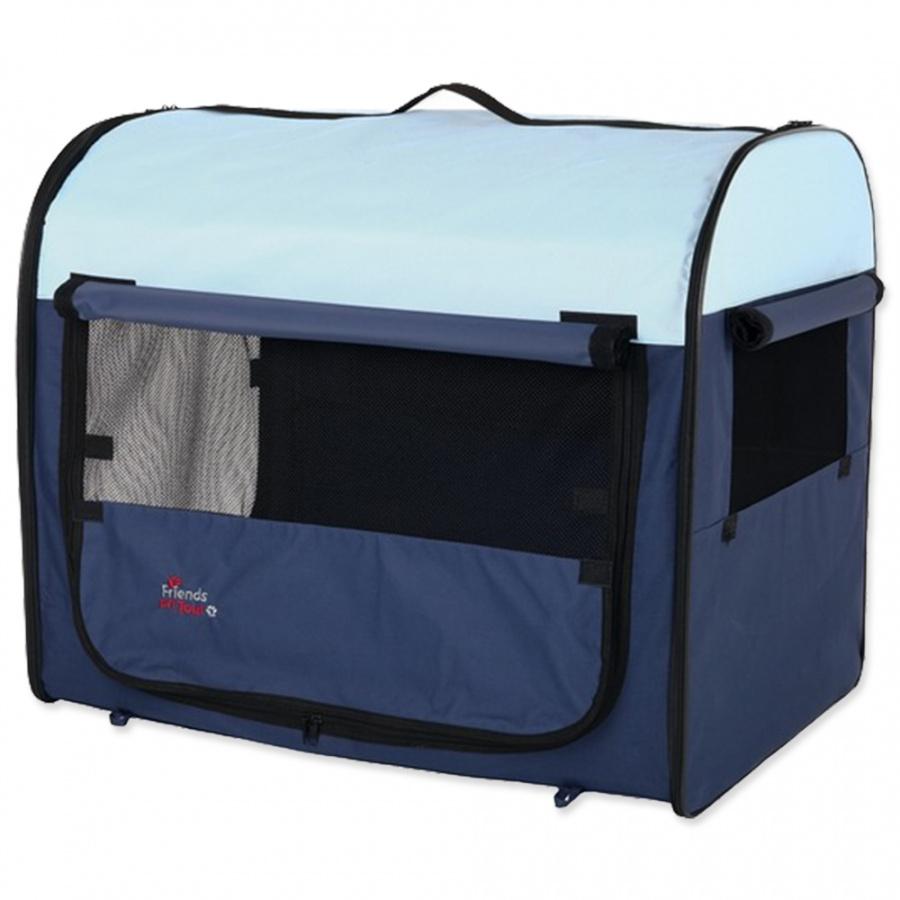 Trixie Mobile Kennel 32x32x47cm modrá/světle modrá