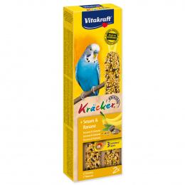 Tyčinky Vitakraft Kracker banán 2ks