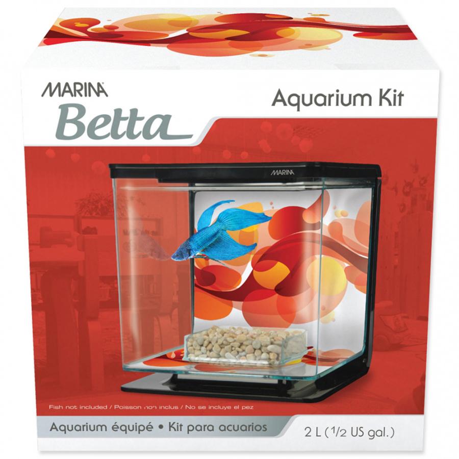 Akvárium MARINA Betta Kit Sun Swirl 2l