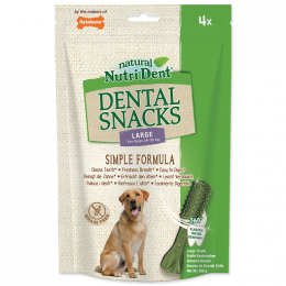 Pochoutka Nutri Dent Dental Snacks Large 4ks
