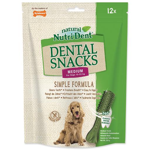 Pochoutka Nutri Dent Dental Snacks Medium 12ks