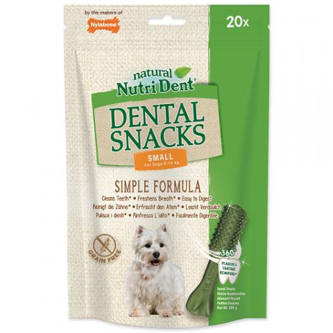 Pochoutka Nutri Dent Dental Snacks Small 20ks