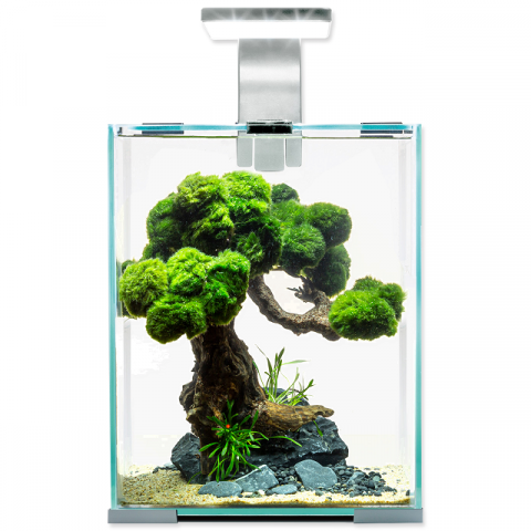 Akvárium Aquael Shrimp Smart Day & Night 10l bílé title=