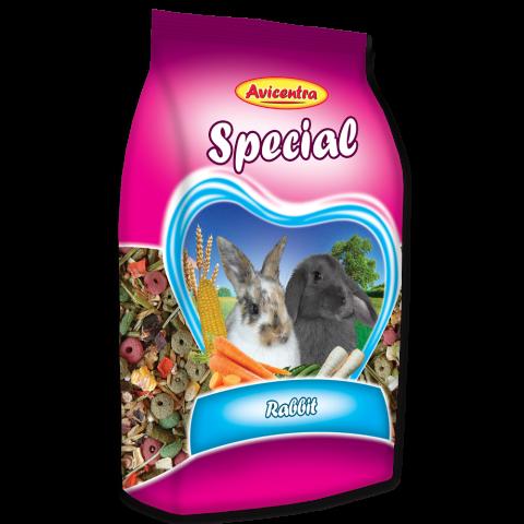 Krmivo AVICENTRA speciál pro králíky 500g title=