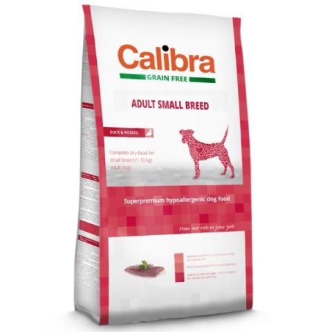 Calibra Dog Adult Small Breed Duck Grain Free 7 kg