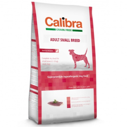 Calibra Dog Adult Small Breed Duck Grain Free 7 kg