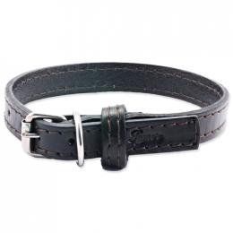 Kožený obojek Tamer 1,4cm/35cm černý
