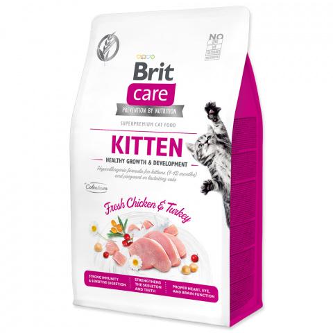 Brit Care Cat Grain-Free Kitten Healthy Growth & Development 0,4kg title=