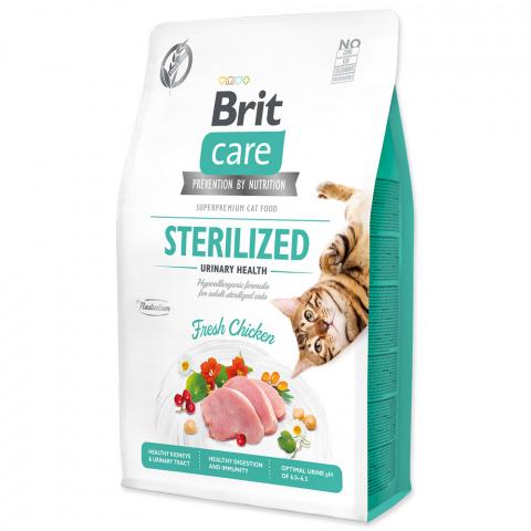 Brit Care Cat Grain-Free Sterilized Urinary Health 2kg title=