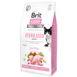 Brit Care Cat Grain-Free Sterilized Sensitive 7kg