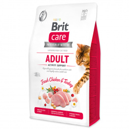 Brit Care Cat Grain-Free Adult Activity Support 2kg