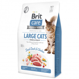 Brit Care Cat Grain-Free Large cats Power & Vitality 2kg