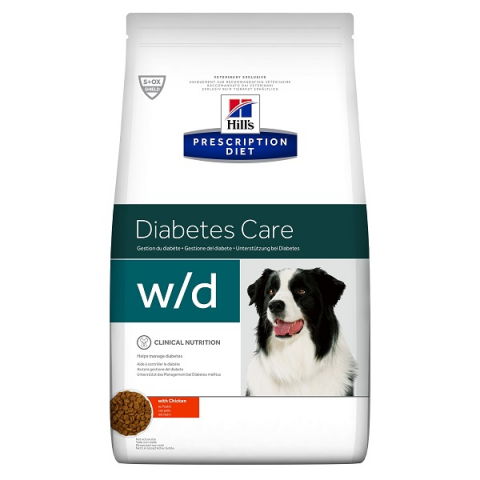 HILL`S Prescription Diet Canine w/d 12kg title=