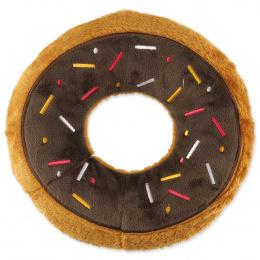 Hračka Dog Fantasy donut hnědý 23cm