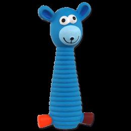 Hračka Dog Fantasy Latex sedící oslík 19cm