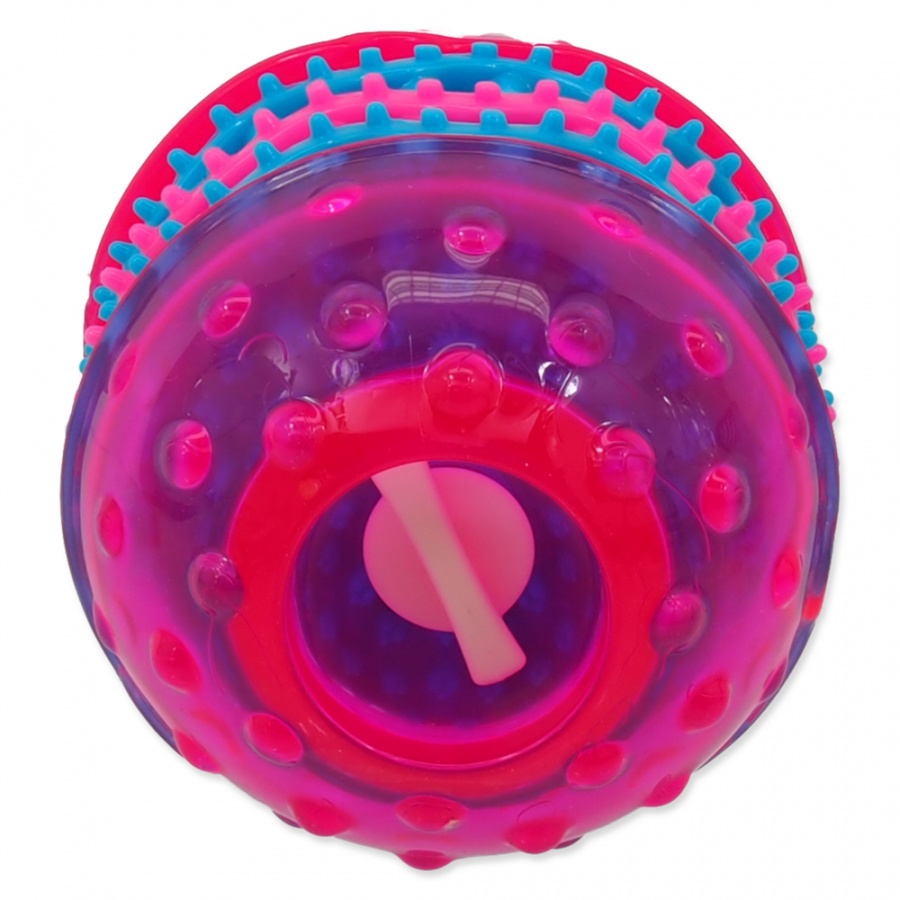Dog Fantasy Dental hračka růžová 10.8cm