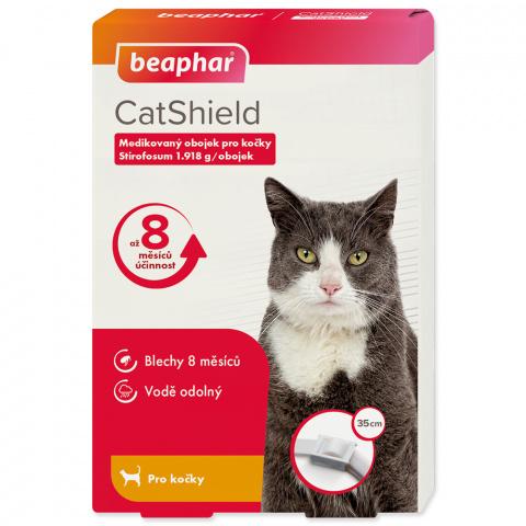 Antiparazitní obojek pro kočky Beaphar CatShield 35cm title=