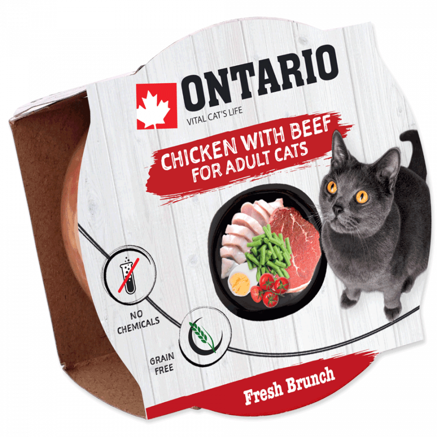 Ontario Fresh Brunch Chicken with Beef 80g
