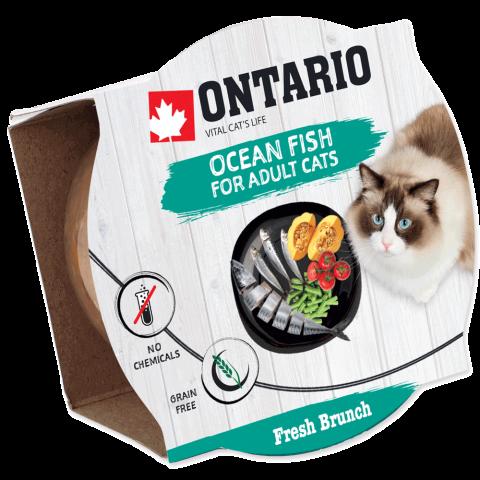 Ontario Fresh Brunch Ocean Fish 80g title=