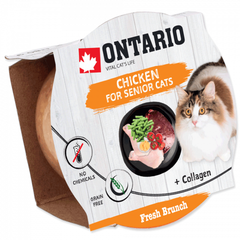 Ontario Fresh Brunch Senior Chicken 80g​ title=