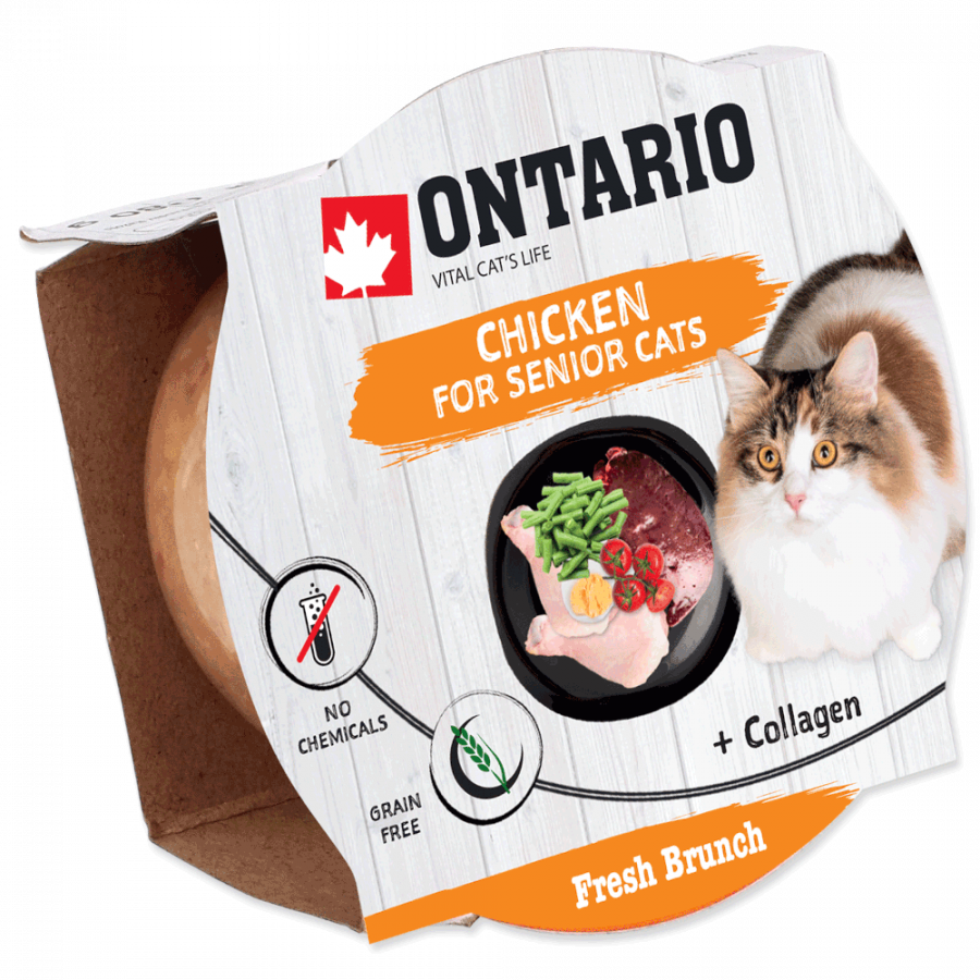 Ontario Fresh Brunch Senior Chicken 80g​