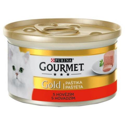 GOURMET Gold hovězí 85g