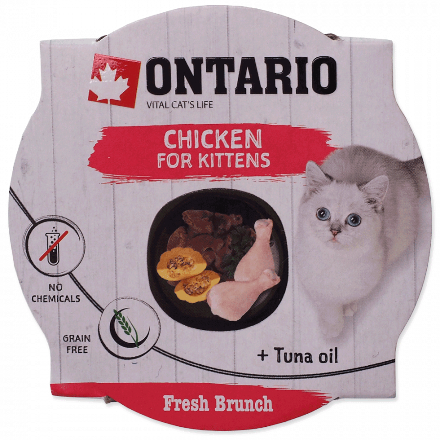 Ontario Fresh Brunch Kitten Chicken 80g