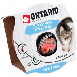 Ontario Fresh Brunch Kitten Ocean Fish 80g